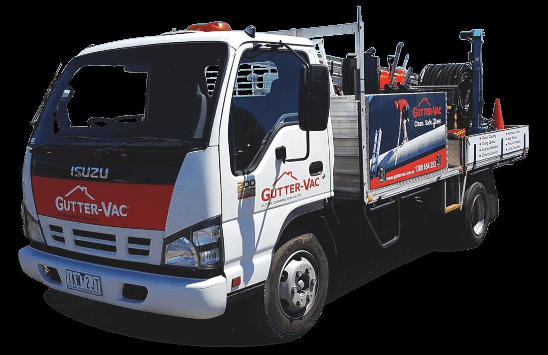 Gutter-Vac Truck
