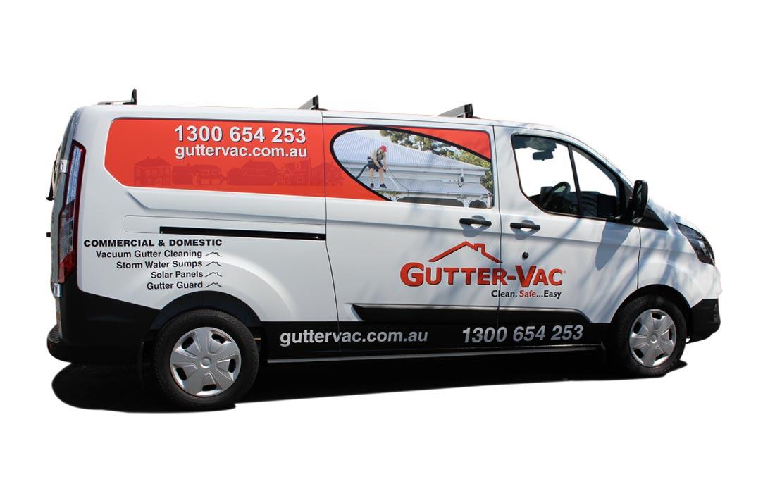 Gutter-Vac Van